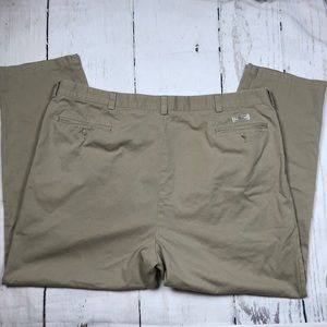 Big & Tall POLO RalphLauren khaki chino pant 48x32